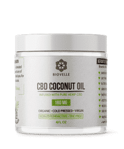 CBD Coconut Oil Jar - 4oz - Showgrow Marketplace