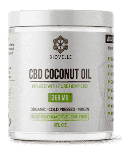 CBD Coconut Oil Jar - 8oz - Showgrow Marketplace